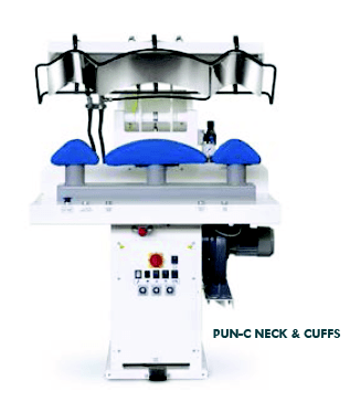 Domatic GAM K Professional Neck and Cuffs Press