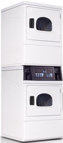 IPSO ILC98 2 X 9.5kg Commercial Tumble Dryer - Double Stack