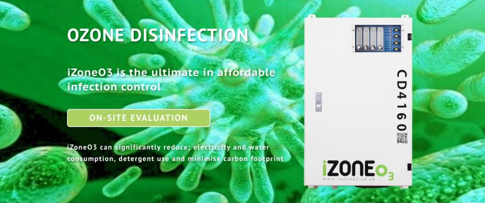 Infection control - Ozone Disinfection System For Laundries